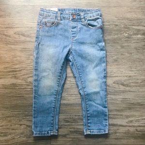 ZARA • Toddler Girls Denim Jeans
